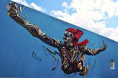 Marianne (HBA_JIJO) Tags: streetart urban graffiti art france artiste artist hbajijo wall mur shaka fresque aerosol murale spray woman bombing femme urbain girl paris91 urbaine marianne muralisme culture mouvement king master best