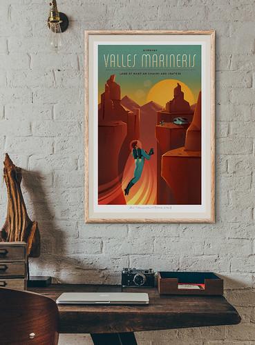 13-Affiche // 50x70 // Valles Marineris