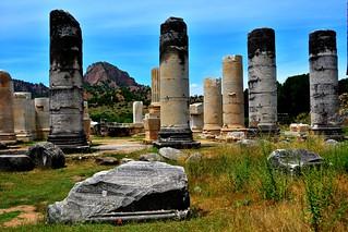 The Temple of Artemis.  Salihli/Turkey