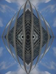 Chrystal Coverage (Ed Sax) Tags: grau weis abstrakt edsax photokunst photoart muster glas vagina wellig geometrisch weiblich scheide blau muschel welle sex kristall