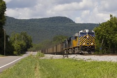 Coal Through Alabama (Colin Dell) Tags: crex citirail gevo coal train crex1511 mountains railroad railway csx