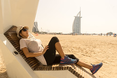 Burj Al Arab (tesKing (Italy)) Tags: abudhabi dubai beach emiratiarabi sandra uae burjalarab emiratiarabiuniti ae