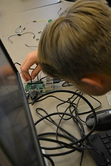 DSC_9266 (Caruth Institute for Engineering Education) Tags: stem programming scratch smu lyleengineering middle school raspberry pi