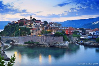 Sunrise Amasra Turkei