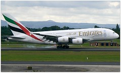 (Riik@mctr) Tags: manchester airport egcc a6edu airplane aircraft jet field emirates airbus a380 msn 98