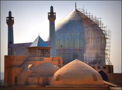 coupole de la mosquée de l'Imam ! (Save planet Earth !) Tags: iran ispahan mosquée imam nikon amcc