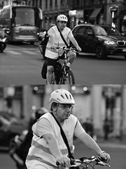 [La Mia Città][Pedala] (Urca) Tags: milano italia 2017 bicicletta pedalare ciclista ritrattostradale portrait dittico bike bicycle nikondigitale scéta biancoenero blackandwhite bn bw 102643