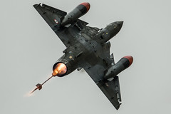 Dassault Mirage 2000D (Nick Collins Photography, Thanks for 2.75m views) Tags: couteau delta dassault mirage 2000d french france aircraft airshow aviation flying military afterburner raf fairford riat reheat canon 7dmk2 500mm