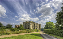 Stoneleigh Abbey (Darwinsgift) Tags: stoneleigh abbey warwickshire coventry hdr nikkor 19mm f4 pc e photomatix architecture england stately house home hall estate nikon d810 multiple exposure sky clouds summer