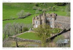 Paysage du Cantal (BerColly) Tags: france auvergne cantal belinay chateau castle landscape paysage vert green bercolly google flickr