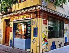 Calle de los estudios (portalealba) Tags: zaragoza aragon españa spain grafiti portalealba canon eos1300d 1001nights 1001nightsmagiccity vividstriking