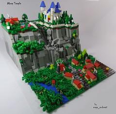Akrep Temple 1 (maga_andreati) Tags: lego moc lug brazil microscale micro