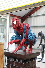 Spiderman (daveandlyn1) Tags: spiderman nutsbolts thebritishironworkscentre oswestry f3556iii efs1855mm canoneos1200d
