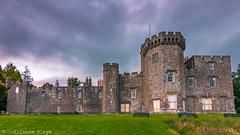 J13 - Balloch Castle (Darth Jipsu) Tags: rose castle scotland sunset highlands argyll nationalpark cloud lochlomond lennox balloch trossachs naturalpark royaumeuni gb