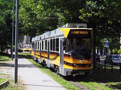 ATM 4948 (jvr440) Tags: tram trolley strassenbahn atm milano 4900 jumbotram jumbo
