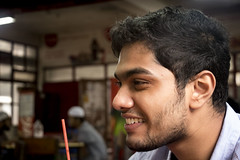 A Bright Face (shjbz) Tags: portrait left profile daily photography friend candid smile bright face people