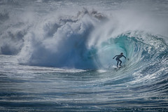 The green room at Nth Avalon - standing room only (Peter Squires - Photos) Tags: avalonbeach surfing