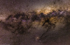 looking towards the centre of our galaxy (andrew.walker28) Tags: milky way galaxy galactic centre stars nebula deep sky objects dso lagoon antares long exposure astrophotography