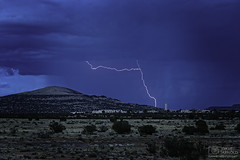 Not to read in between the lines (Dave Arnold Photo) Tags: nm nmex newmex newmexico acoma skycity cibola reservation mountains lightning lightening desert storm stormy thunderstorm thunder image pic us usa picture severe photo photograph photography photographer davearnold davearnoldphotocom rainbow scenic cloud rural party summer badweather top wet daylight sunset canon 5d mkiii 24105mm huge big county i40 landscape nature monsoon outdoor weather rain rayos cloudy sky cloudburst raincolumn rainshaft season sanfidel southwest monsoons strike hill native acomita lake cubero casa blanca