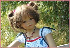 Milina ... (Kindergartenkinder) Tags: dolls himstedt annette park blume garten kindergartenkinder essen grugapark personen blumen milina sommer