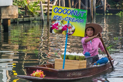 marche fottant damnoen saduak - thailande 10