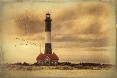 The Fire Island Light (NYRBlue94) Tags: fire island lighthouse summer ocean beach sky vintage nautical suffolk county tower architecture outdoor landscape field shore scenery