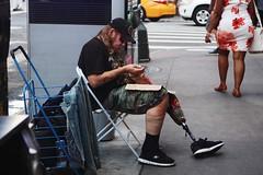 Otherside #people #man #street #injured #city #urban #urbanexploration #usa #america #newyork #newyorkcity #nyc #highway #person #poor #color #travel #photography #otherside #sad (amlujua) Tags: people man street injured city urban urbanexploration usa america newyork newyorkcity nyc highway person poor color travel photography otherside sad