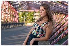 mrd-8154 (Maarten's fotografie & meer) Tags: vlaardingen model outdoor portrait bridge