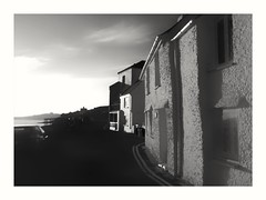 Cottages , St Mawes (Develew) Tags: stmawes cornwall whitewashedcottages brightsunlight falestuary carrickroads