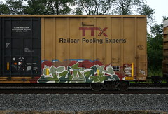 Judge (quiet-silence) Tags: graffiti graff freight fr8 train railroad railcar art judge ttx tbox boxcar tbox661581