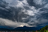 Innsbruck sunset and thunderstorm