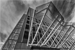 Maastoren 3 (Rens Timmermans) Tags: canon5dmk3 sigma1224f4556dg rotterdam architectuur blackwhite niksilverefexpro nationalgeographic ngc