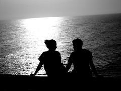 sguardi. (<3 Revolution) Tags: sicilia scala sicily dei turchi agrigento scaladeiturchi italy italia sea love