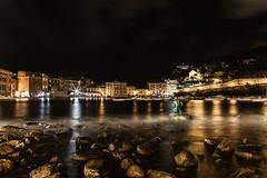 Sestri Levante (GE), Liguria, Italy (Manu Arjuna - Landscapes) Tags: sestrilevante genova liguria italia italy baiadelsilenzio bayofthesilence 39 0185 rivieradilevante lungaesposizione longexposure riflessi reflections canon6d 24105mmf4lisusm manuarjuna
