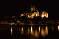 Albrechtsburg in Meißen (www.holgersbilderwelt.de) Tags: beautiful light water black travel landscape street architecture night color art urban building river germany reflection europe outdoor shadow abandoned classic kunst scenic castle tranquility historic culture traditional perspective saxony sachsen gothic waterscape dresden elbe meissen lausitz albrechtsburg rock valley