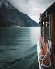 Königssee, Bavaria (Sunny Herzinger) Tags: herkunft dedeutschland berchtesgaden europa fujixpro2 bavaria boat königssee bayern obersee july