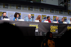 John Bradley, Nathalie Emmanuel, Liam Cunningham, Sophie Turner, Jacob Anderson, Conleth Hill & Alfie Allen (Gage Skidmore) Tags: john bradley nathalie emmanuel liam cunningham sophie turner jacob anderson conleth hill alfie allen game thrones hbo san diego comic con international 2017 convention center california