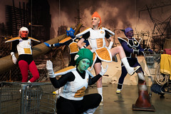 High-Level Executive Class (asiantango) Tags: animeexpo2017 celebrationevent convention cosplaytype dragonballz in indoor indoors inside item object