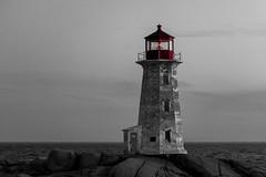 Still at Work (langdon10) Tags: atlanticocean canada canon70d lighthouse novascotia peggyscove shoreline ocean outdoors