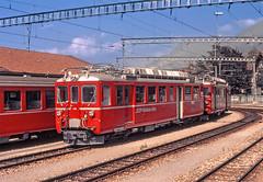 RhB ABDe4/4 486 (maurizio messa) Tags: rhb rhätischebahn graubünden grigioni switzerland svizzera schmalspurbahn elettromotrice emu treni trains triebwagen triebzug railway railroad railcar yashicafxd mau bahn ferrovia