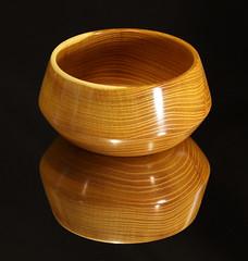 Osage Orange, 6 x 3, Tru oil finish (Stephen Mildenhall) Tags: woodturning bowl wood lathe woodbowl woodwork