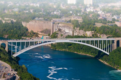 Rainbow Bridge (A Great Capture) Tags: niagarafalls misty mist fog gorge river rainbowbridge ash2276 ashleylduffus ald mobilejay jamesmitchell toronto on ontario canada canadian photographer northamerica torontoexplore summer summertime été