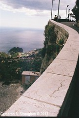 CNV00010s (Cameron A. Straughan) Tags: travel tourism eccentric quirky surreal odd architecture street history angles lines culture 35mm exposures film developing 400 iso real photography traditional photographs fuji stx2 camera processing tamron zoom lens 35 mm manual colour color photos classic old school ilford taormina hill mountains sicily mount etna active volcano teatro antico di ancient greco¬roman godfather francis ford coppola italy