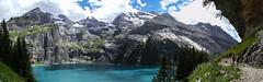 Bergwanderweg (fafisavoie) Tags: montagne mountain lac lake water alps alpes suisse switzerland wanderweg chemin randonnée