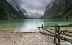 Let it rain (Mika Laitinen) Tags: canon5dmarkiv europe germany köningssee leefilters obersee cloud color lake longexposure mountain nature outdoors rain sky water schönauamkönigssee bayern de