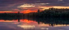 _DSC0026-Pano (johnjmurphyiii) Tags: clouds connecticut connecticutriver cromwell dawn originalnef riverroad riverportpark sky summer sunrise tamron18270 usa johnjmurphyiii