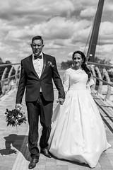 E&A 2017 (Elvijs Vitins) Tags: wedding weddingphotographer kāzas kāzufotogrāfs 2017 weddingday weddingdress justmarried couple kāzudiena canon wood forest night flashlight speedlight blackwhite sky jelgava riga vintage dress nikon zenit helios