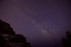 """Ciel """"lacté"""" (benjamin urbain) Tags: espace galaxie voie lactée space ciel nocturne extérieur étoile d3300"""