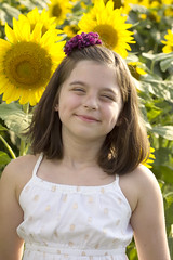 (cocomo7) Tags: sunflowers memphis 2017 july summer flowers daphne 7yearsold