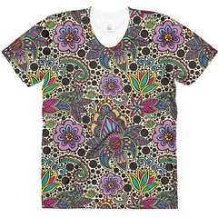 Polka Paisley pattern on women's t-shirt. what do you guys think? feedback will be much appreciated (Hopscotchers) Tags: artist artlicensing arts bohemianlife brazil couple curitiba design designer digital digitalnomad drawing fabricdesign filmmaker gypsysoul hennaart hippiespirit hopscotchers illustration illustrator lineart linedrawing love lovers malaysianartist mandalaart nomads paisley pattern patterndesign polkadot printandpattern reviews surfacepattern surfacepatterndesign textiledesign tips travel travelcouple travelingartist travelling tricks videos visualartist